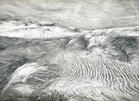 ●湖畔 開催概要: 門坂 流 ペン画展 「風力の学派」より 開催期間・... 版画家・門坂 流氏