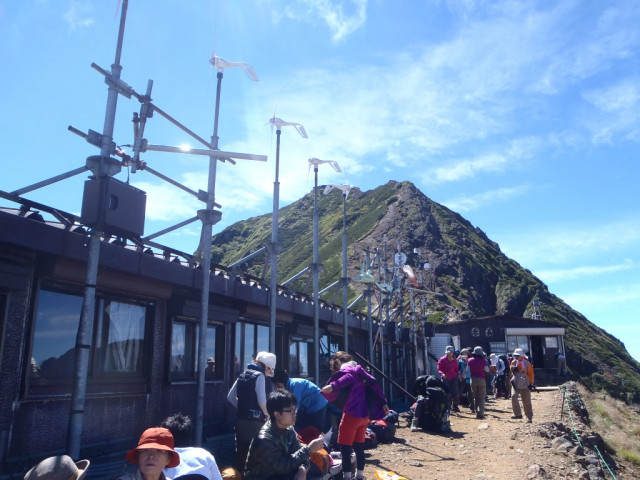 八ヶ岳 バイト