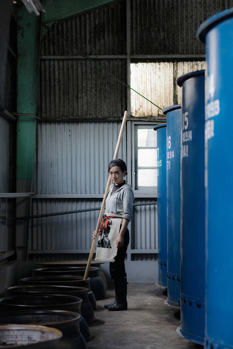 『田舎暮らしの本』(宝島社)で連載中の「働く人」より(写真=吉田智彦)