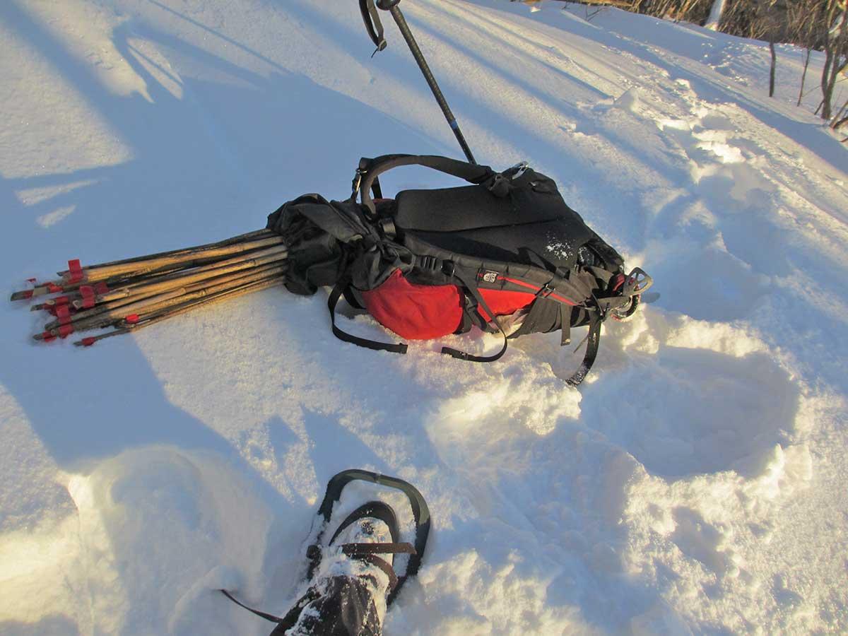 雪山ラッセルの装備