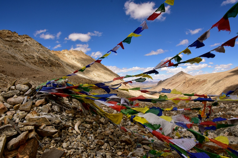 ネパール・ヒマラヤとチベットの国境付近