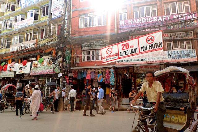 ネパール・カトマンズで運命の再...