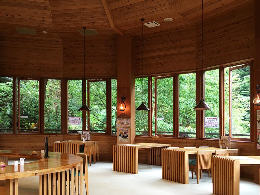 生涯青春の湯「つるつる温泉」パノラマ食堂