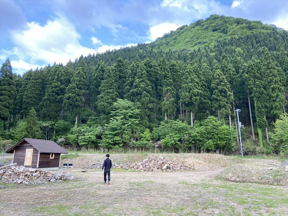 山 購入 キャンプ