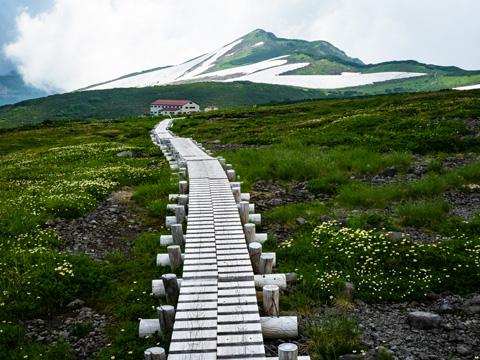 標高2500mの天空の花園・五色ヶ原