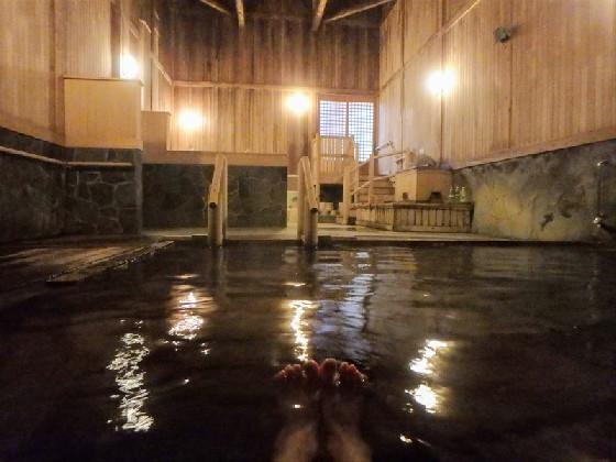 秘湯の一軒宿・蔦温泉での極上湯