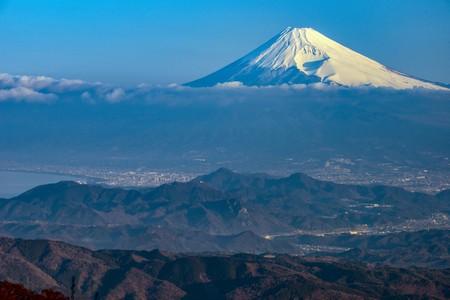 天城山からの富士山は大迫力!
