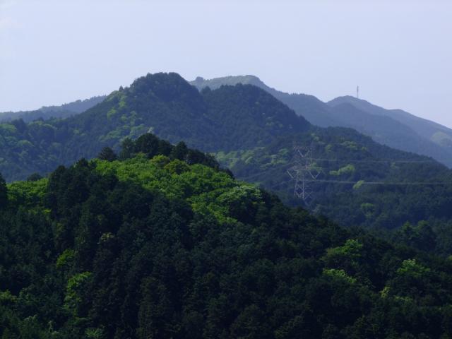 越上山 - おがみやま:標高566m ...