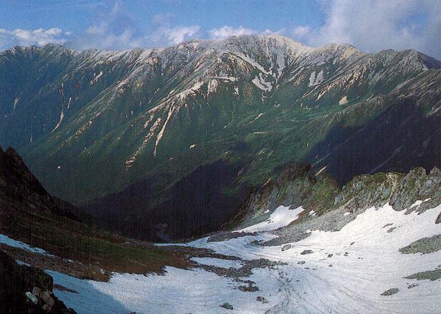 野口五郎: のぐちごろうだけ:標高2,924m-北アルプス・御嶽山