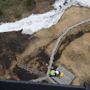 残雪上で起きる事故について注意喚起。 島崎三歩の「山岳通信」 第75号